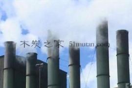 使用干馏方式生产机制木炭真辛苦