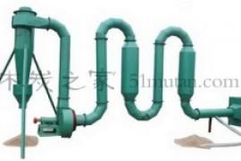 木炭Geek系列①-机制木炭生产设备 气流式烘干机原理及构造