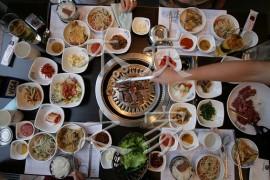最棒的韩国烧烤专用木炭